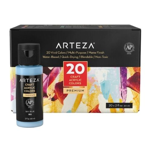 Arteza Craft Acrylic Paint Set