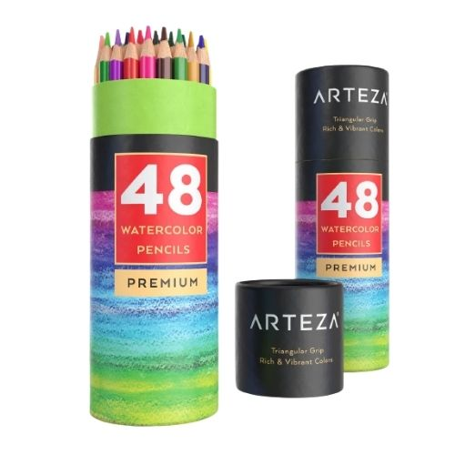 Arteza Watercolor Pencils Set