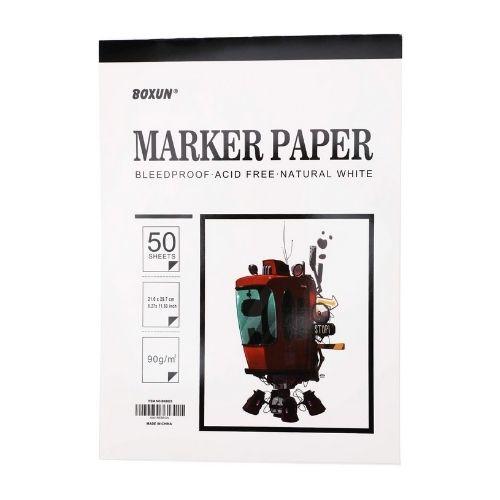 Boxun Premium Marker Paper Pad