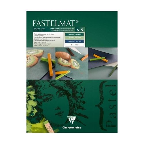 Clairefontaine PastelMat Pastel Card Pad