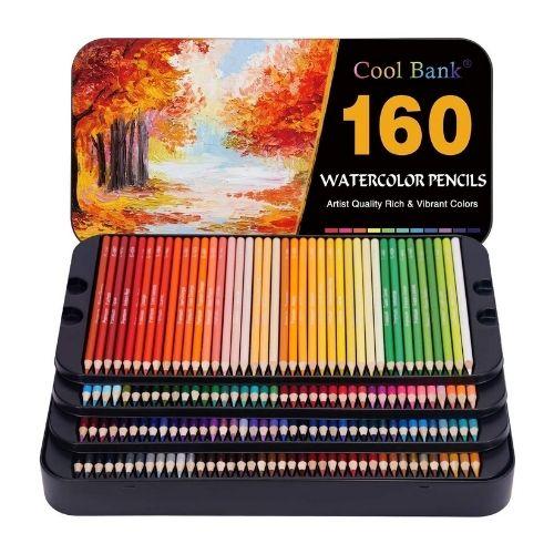 Cool Bank Watercolor Pencil Set