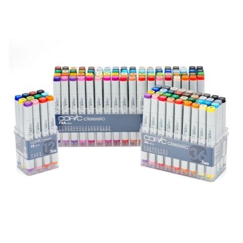 Copic Classic Marker Set