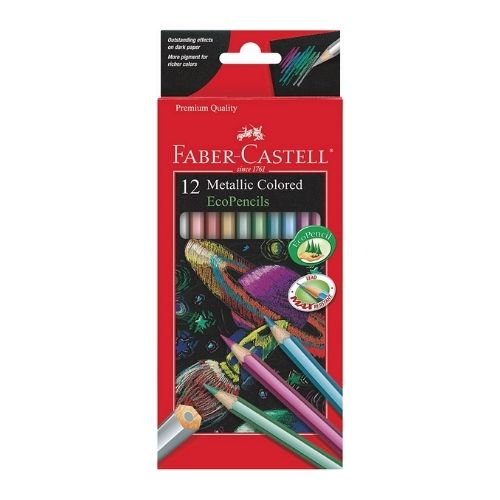 Faber-Castell Metallic Colored Ecopencils