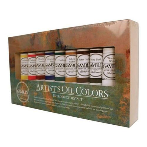 Gamblin Artist Oil Colors Set