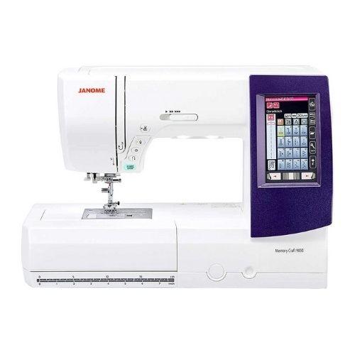 Janome Horizon Memory Craft 9850 Embroidery Machine