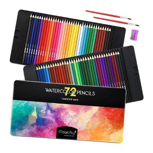 Magicfly Watercolor Pencils Set