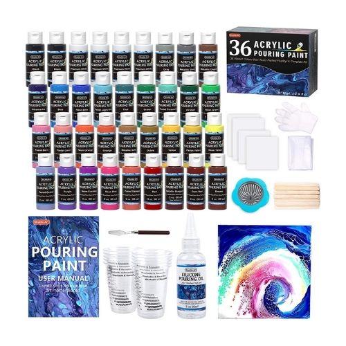 Shuttle Art Acrylic Pouring Paint Set