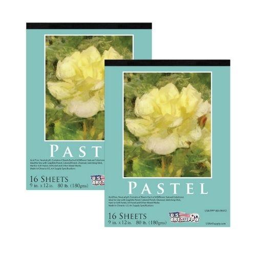 U.S. Art Supply Premium Pastel Paper Pad