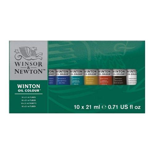 Winsor & Newton Winton Oil Color Basic Set