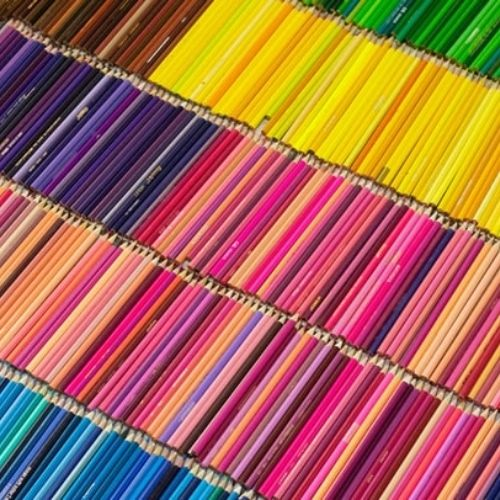 colored pencils type