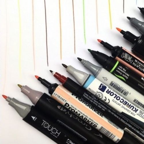markers for drawning