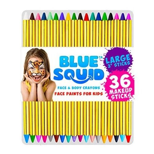 Blue Squid Face Paint Crayons for Kids