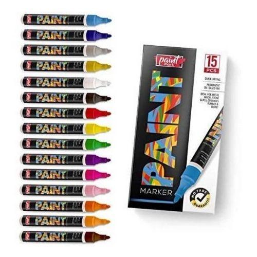 Paint Mark Quick-Dry Paint Pens for Wood