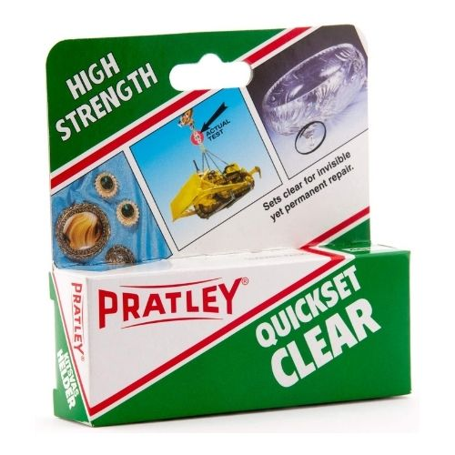 Epoxy Glue - Porcelain Adhesive Repair Kit by Pratley