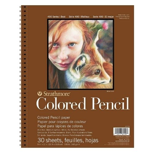 Strathmore Colored Pencil Paper Pad